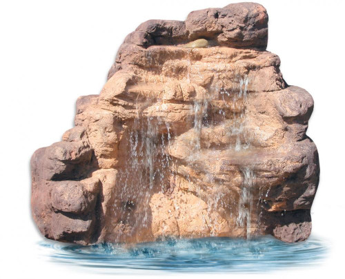 Ponds - pond waterfalls - waterfalls -  Medium Waterfall - MW-005