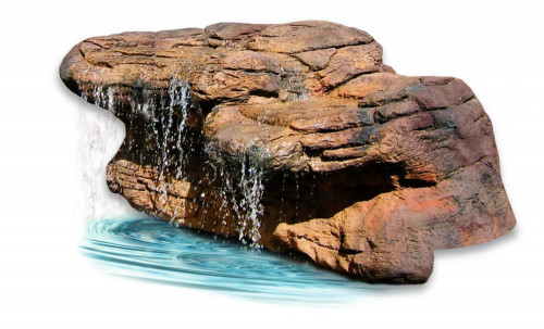 Ponds - pond waterfalls - waterfalls - Medium Waterfall - MW-008