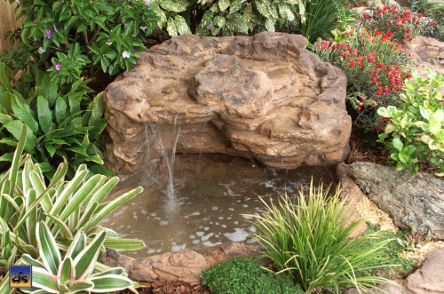 Ponds - pond waterfalls - waterfalls - Medium Waterfall - MW-011