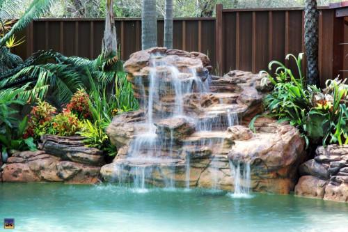 """Serenity Waterfall"" Complete Swimming Pool Waterfall Kit - FREE SHIPPING!"