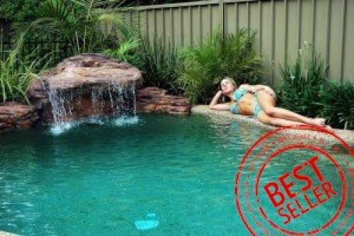 """Maldives"" - Complete Swimming Pool Waterfall Kit. FREE SHIPPING"