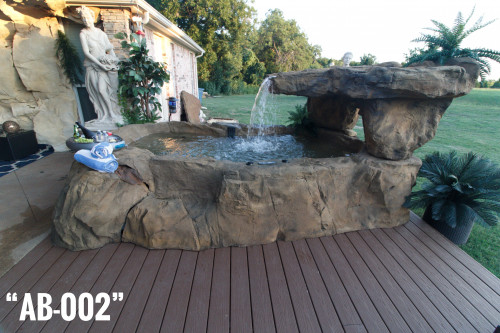 Above-Ground Lounge Hot Tub/ Spa (4 Options)