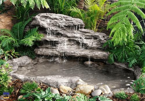 Large Edge Waterfall - LEW-002