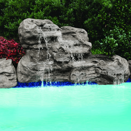 """Serenity Medium""  Complete Swimming Pool Waterfall Kit"