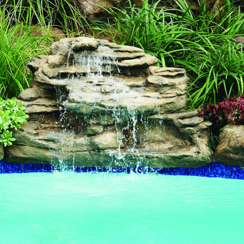 """Spirit Falls"" Complete Swimming Pool Waterfall kit"