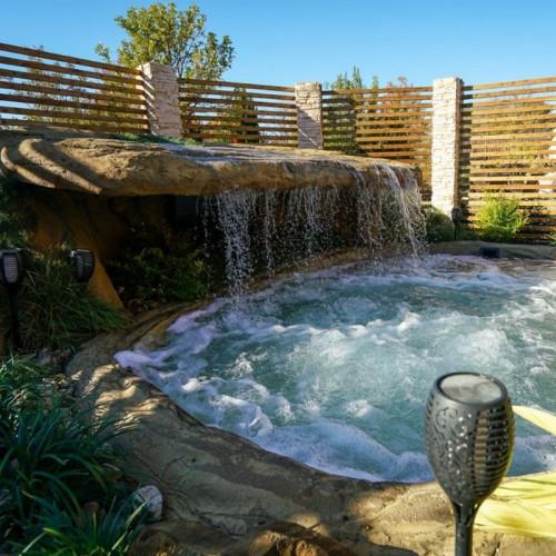 """Sunbake Falls"" Swimming Pool Waterfall"