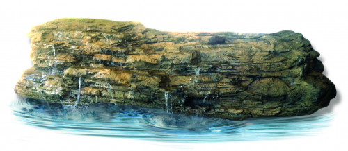 Ponds - pond waterfalls - waterfalls - Extra Large Edge Waterfall-001