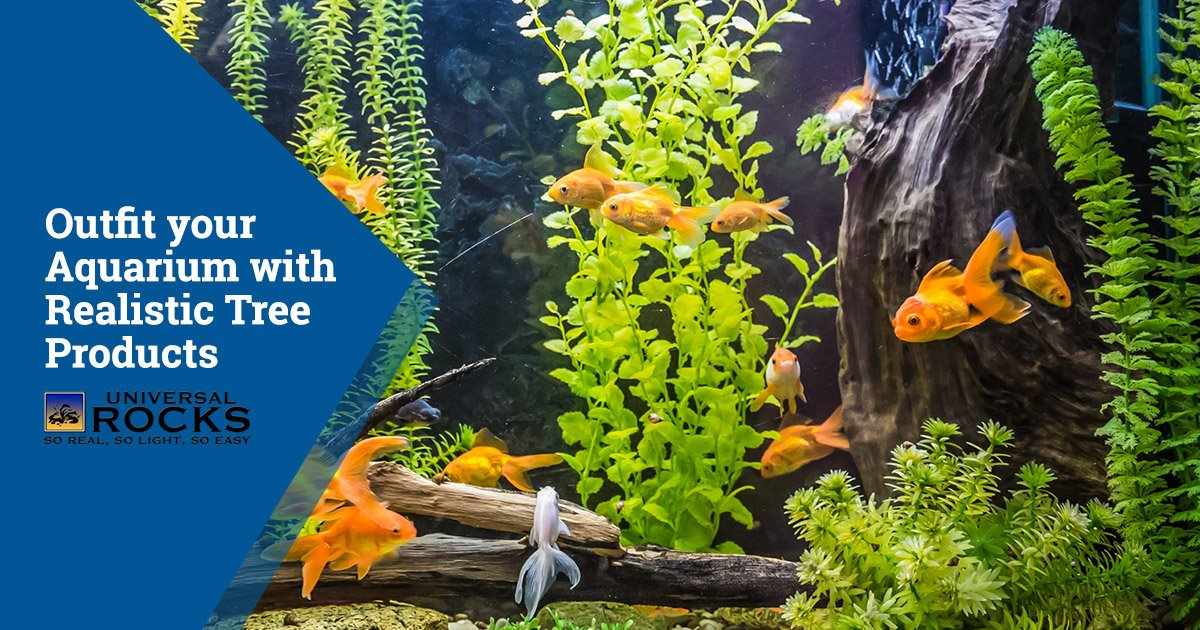 Outfit your Aquarium with Realistic Tree Products