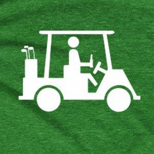 Golf Cart Drinking