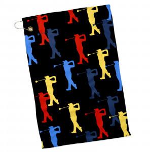 Retro Golfer Towel