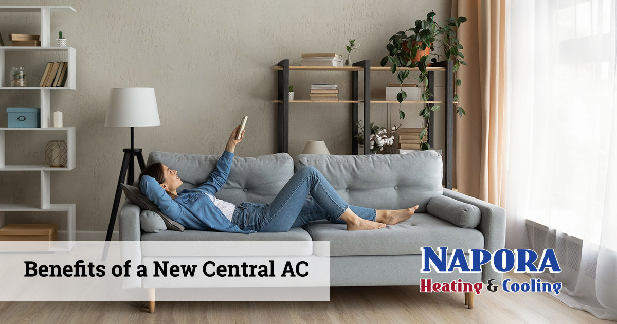 The Benefits of a Installing a New Central Air Conditioner