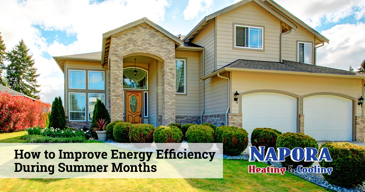 Improving Energy Efficiency During Summer Months