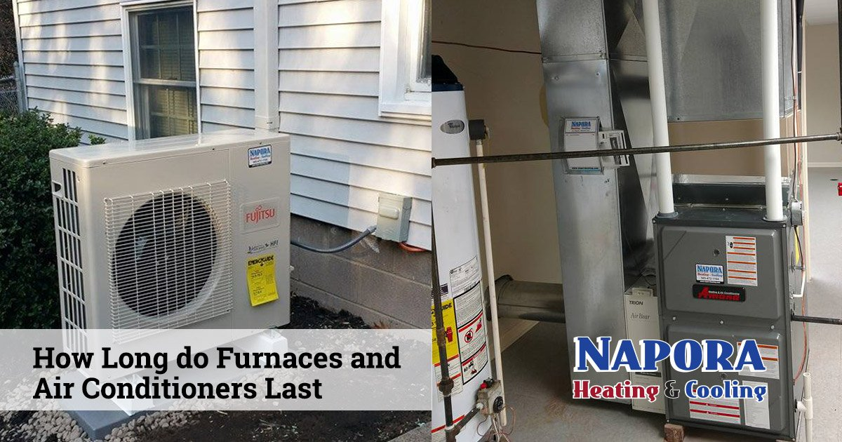 How Long Do Furnaces and Air Conditioners Last?