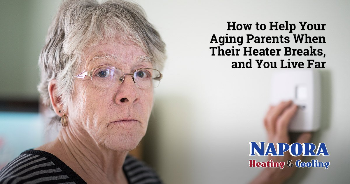 How to Help Your Aging Parents When Their Heater Breaks, and You Live Far Away