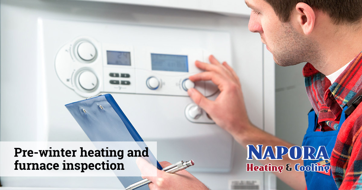 Pre-Winter Home Heating and Furnace Inspections