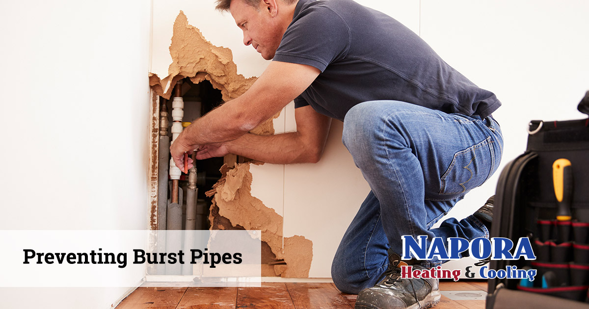 How to Prevent Frozen Pipes from Bursting