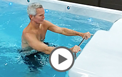 Aqua Bars in Swim Spas