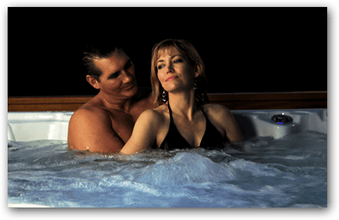 Married Couple in Hot Tub