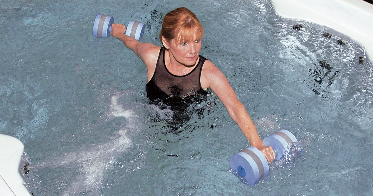 Water Exercise is Easy on Joints and Muscles