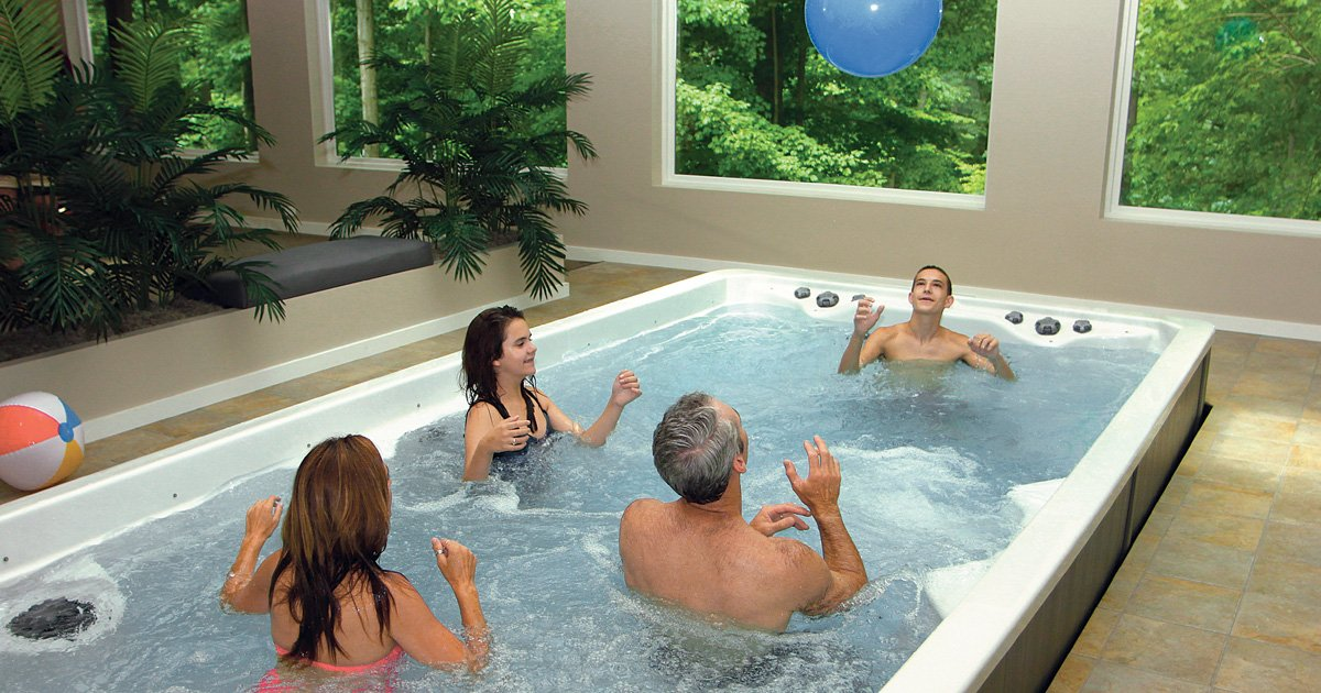 Swim Spas and Family Fun