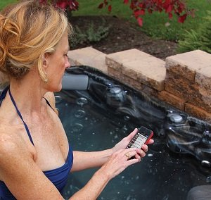 hot tub remote control