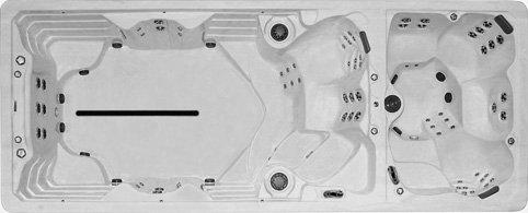 FX219 Dual Zone Swim Spa