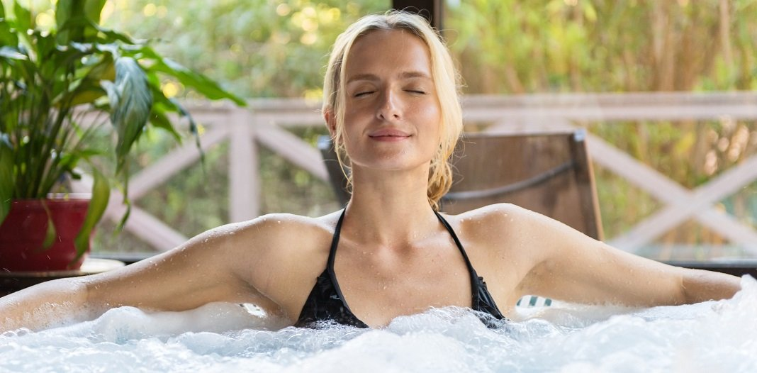 hot tubs reduce tension