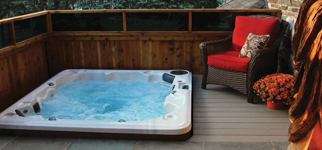 PDC Spas in-ground hot tub