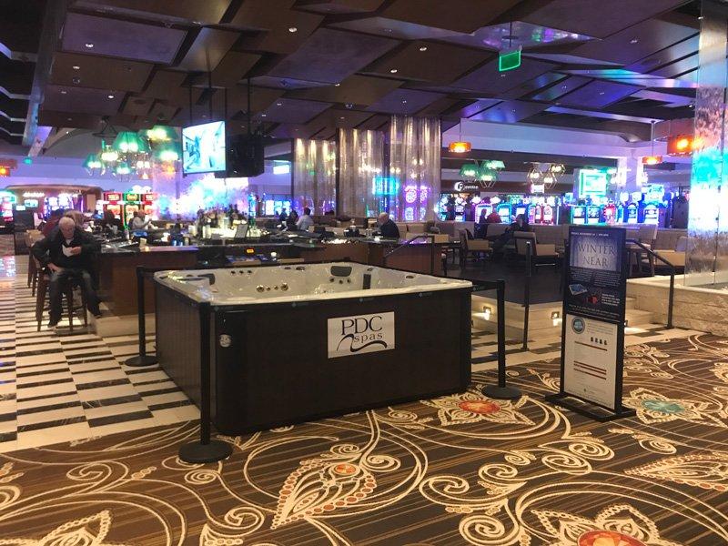 del Lago Casino Win a Hot Tub Promotion