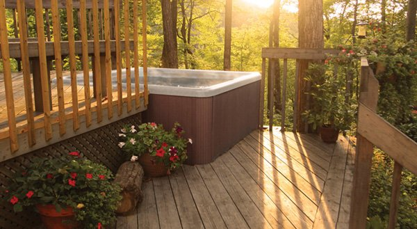 PDC Spas lifestyle hot tubs