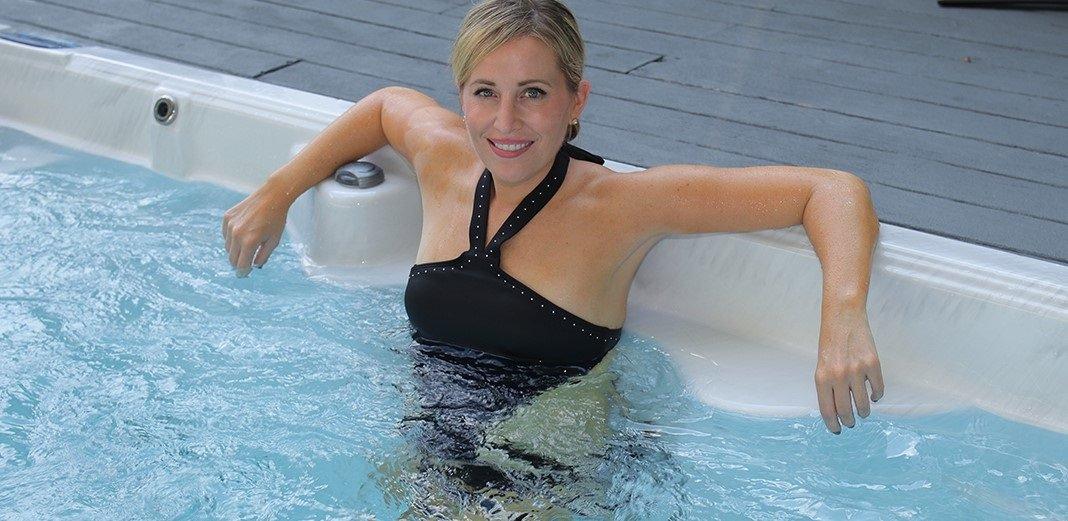 swim spa massage