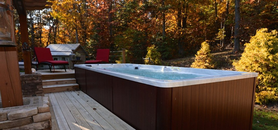 PDC Spas Swim Spa Fall