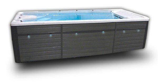 TruSwim TSX17 Swim Spa Side
