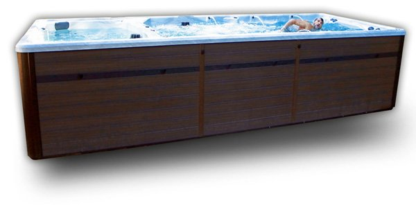 Synergy FX219 Dual Zone Swim Spa Side