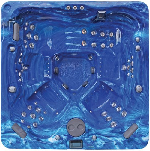 Summer Sapphire Hot Tub Color
