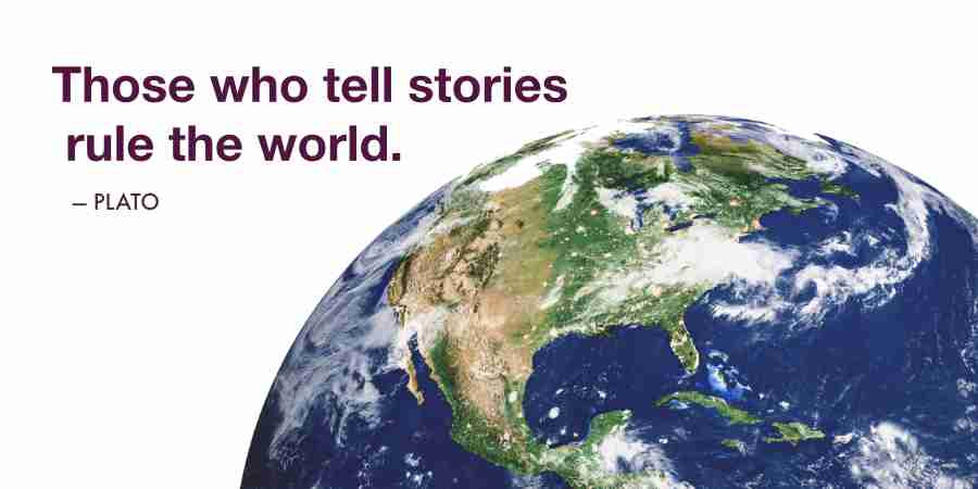 Engage readers with storytelling