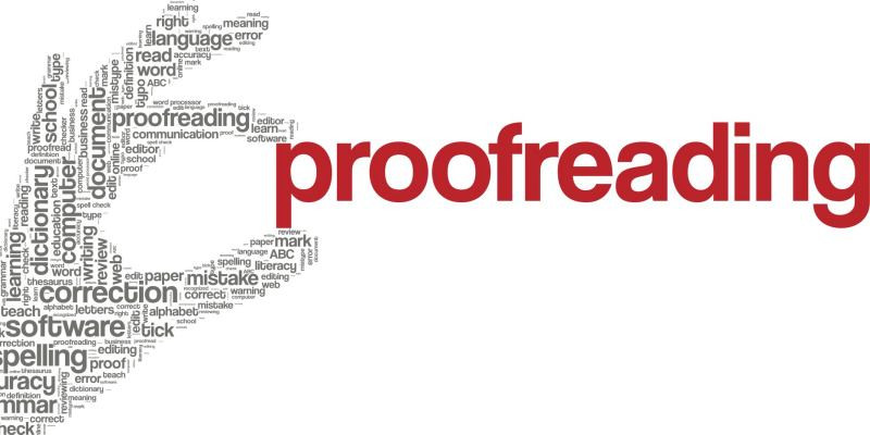 A structure for proofreading