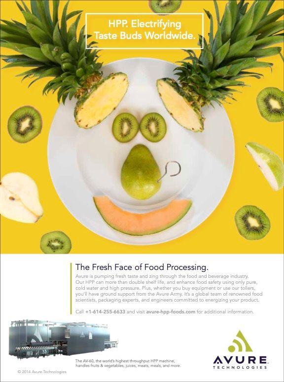 Healthy nutrition ad campaign