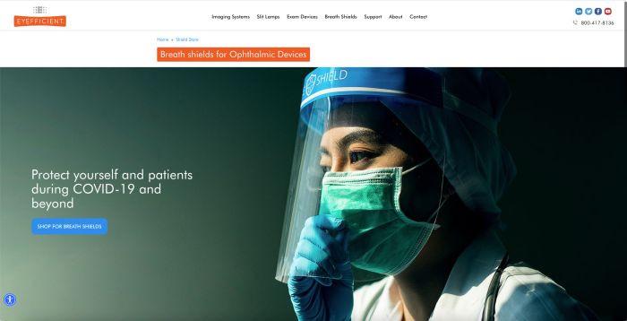 medical ecommerce website
