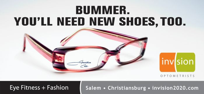fashion billboard campaign for optometrists