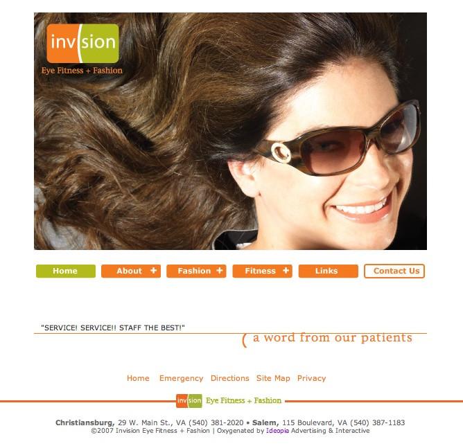 optometrist website