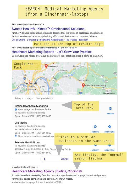 build a Google My Business Site