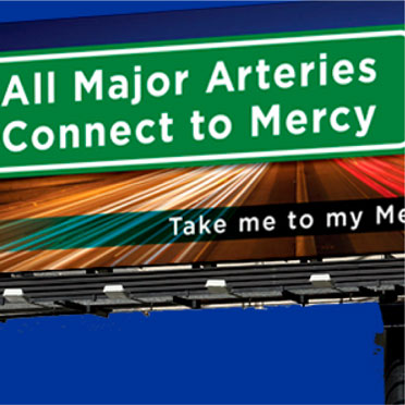 Hospital billboard campaign