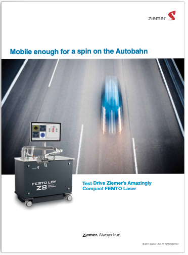 print ad for femtosecond surgical laser