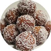 Coconut Gulab Jamun