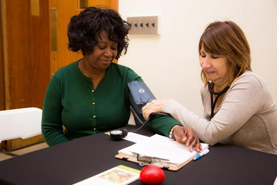 This blood pressure project runs on faith