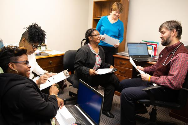 Health center achieves patient-centered milestone