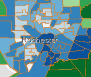 Half of eligible Rochester residents have received COVID vaccine