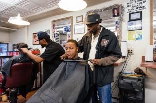 Local barbershops and salons offer blood pressure screenings