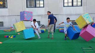Why Healthi Kids built a pop up park for adults